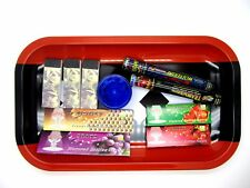 Amsterdam Wapen XXX Smoking Rolling Tray Flavored Filter Papers Tips Grinder