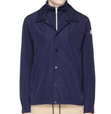 New Moncler 'ADRIEN' Double Layered Sports Utility Shirt/Jacket - Navy/Blue