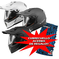 Casco Trail y Enduro LS2 Pioneer MX436 Solid lente solare Off Road