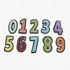 Numbers Iron on Patches  / Crafts Sew on patch / Applique / Badge