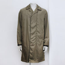 New Mens Prada Khaki Green Car Coat With Detachable Lining Size M BNWT RRP £805