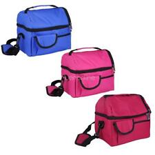 Insulated Picnic Lunch Storage Bag Portable Thermal Cooler Case School Office
