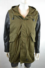 Diesel VERDE giacca giacca Casual Outdoor TAGLIA M