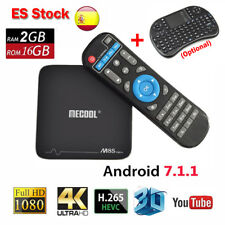 2GB/16GB MECOOL M8S PRO+ Android 7.1 Amlogic S905X 4K Smart TV Box WIFI +Keyboar