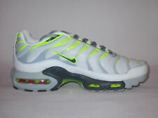 NIKE AIR MAX TN PLUS TXT TUNED 1 TRAINERS SNEAKER WHITE GREY EXCLUSIVE 852630003