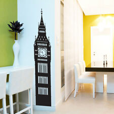 Big Ben London Wall Window Stickers Decals Vinyl Home Decor Colourful A144 Part 88