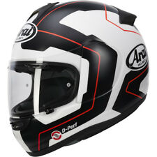 Arai Axces 3 Line Black White Red Full Face Motorbike Motorcycle Crash Helmet