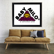 Bape Baby Milo Hearts Poster Print ALL SIZES (a bathing ape) #BAPE26