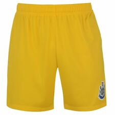Newcastle United FC Core Shorts Mens Yellow Football Soccer Short