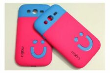 Smiley Hard TPU Case Cover For Samsung Galaxy Core i8260 / i8262
