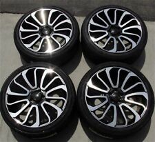 """(4x) 21"""" alloy wheels + Winter tyres 275/45 Gripmax Stature set for Range Rover"""