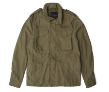 Giacca militare uomo Deus Ex Machina Clay M65 jacket colore army green