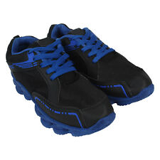 World Wear Footwear Men's Canvas PVC Sole Black Sports Sports Shoes (170)