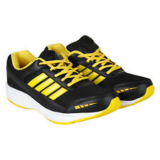 World Wear Footwear Men's Canvas PVC Sole Black Sports Sports Shoes (328)