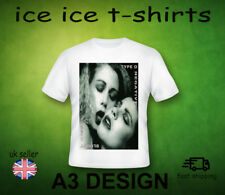 TYPE O NEGATIVE - BLOODY KISSES   -ADULT WHITE T-SHIRT