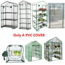 PVC Walk in Cover Apex Garden Greenhouse Tall Green Plant House Shed Storage