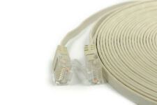 Patchkabel grau Slim Line Cat 6 Flachkabel Netzwerk Patch [ovvar]