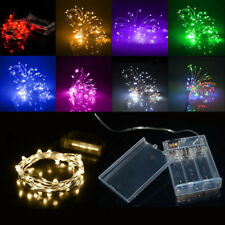 40LEDs 4M Battery Powered Wire String Fairy Lights Lamp Christmas Birthday Decor