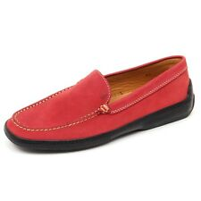 D2408 mocassino barca uomo TOD'S RESTYLING rosso loafer shoe man
