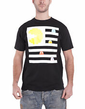 Pacman T Shirt Pacman and Ghosts Maze Game Logo offiziell Herren Nue
