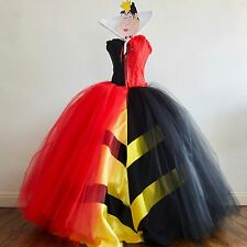 Halloween Queen Of Hearts inspired Costume Villain Party, Various Sizes