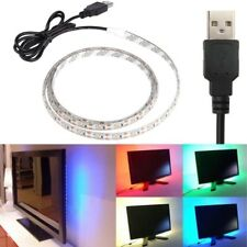 Usb Impermeable 3528 5050 Tira de luces LED Lámpara Cinta Home TV Fondo