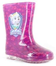 New Younger Girls/Childrens Pink Paw Patrol Skye Pvc Wellington Boots. UK SIZES