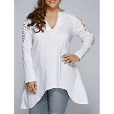 Superbe chemise haut femme grande taille cocktail SOIREE evening top code50