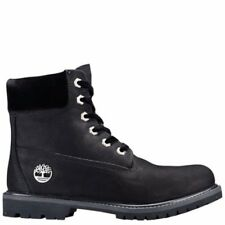 Timberland WOMEN'S VELVET ACCENT PREMIUM WATERPROOF BOOTS Black limited edition