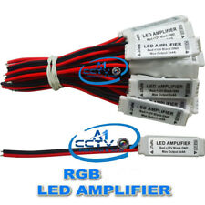 DC12V Mini RGB LED Signal Amplifier Repeater For LED RGB Strip SMD 5050 3528