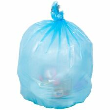 39 Gallon Recycle Trash Bags 32 X 37, 1.5 mil Strength Strong Recycle Blue Bags
