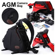 Waterproof SLR DSLR Camera Shoulder Carry Case Sling Bag For Sony Nikon Canon UK