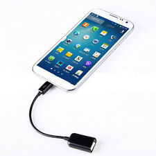 Micro USB 2.0 A Female to B Male Converter OTG Adapter Connect Cable for Phone