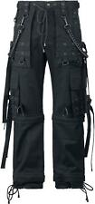 Gothicana by EMP Black Chain (Loose Fit) Pantaloni nero