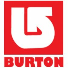 Burton Snowboard Logo Vinyl Cut Sticker Decal