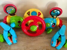 ❤️ ELC BUGGY DRIVER STEERING WHEEL MUSICAL SOUNDS & LIGHTS PUSHCHAIR / BUGGY TOY