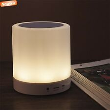 Media-Tech Lightbox BT TOUCH  Altoparlante Bluetooth con Lampada a Led Wireless