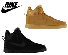 Mens Nike Court Borough Stylish Mid Top Trainers