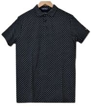 NWT Superdry City All Over Print Jersey Polo T-Shirt
