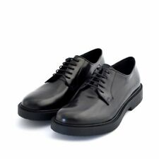 Scarpe classiche shoes Soldini uomo man pelle leather nero black made in italy