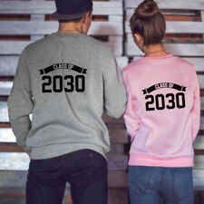 New Christmas Couples Winter Sweaters Hoodie Hubby Wifey Matching Casual Clothes