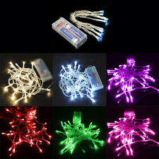 40LEDs 4M Battery Operated String Lights Fairy Lamp Christmas Garden Decorations