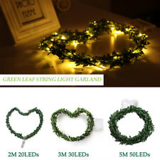 Wire Fairy Lights 20/30/50LEDs Battery Operated Flexible Wedding Garden Decor