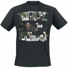 The Walking Dead Good, Bad, Walkers T-Shirt nero