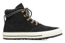 Mujer Converse Chuck Taylor All Star Ember Boot Suede + Fur Hi Botines Negro