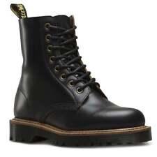 Dr Martens Pascal II Womens Leather 8-Eyelet Ankle Boots - Black