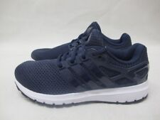Mens Adidas Energy Cloud Foam Sport Shoes Navy White Running Lace Up Trainers