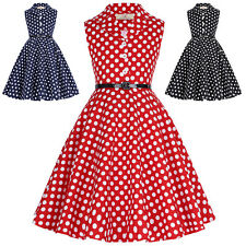 bambine ragazze vintage 1950s anni'60 pois pinup ROCK n-roll SWING