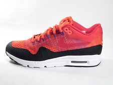 WOMENS ORIGINAL NIKE AIR MAX 1 ULTRA FLYKNIT RED REFLECTIVE TRAINERS 859517600