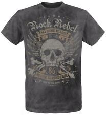 Rock Rebel by EMP No More Rules T-Shirt carbone